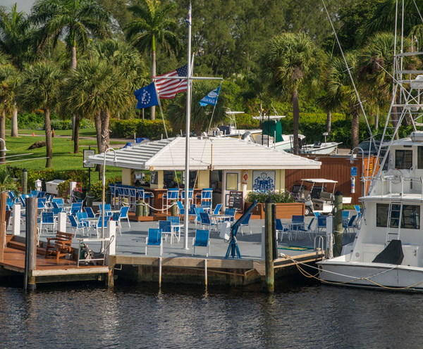 Set sail from our yachting dock in South Florida
